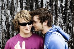 McFly, music, harry judd, dougie poynter, pudd Tom Fletcher, Dougie Poynter, Sexy Men, Sexy Guys, The Past, Mens Sunglasses, Couple Photos, Pretty, Style