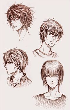 Death Note character sketches