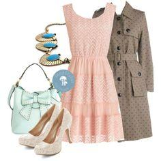 #Trenchcoats #Pastels #SpringShowers