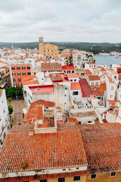 The Spanish City Of Mahon... On The Island Of Menorca, Spain (32)