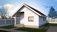 Small 3 Bedroom House Plans 2020 - Home Comforts Small House Floor Plans, Small Bedroom Furniture, Small Master Bedroom, Small Bedroom Designs, Rustic Cottage, Bedroom House Plans, Home Comforts, Home Design Plans, House Layouts