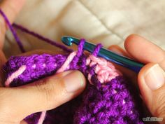 How to Tapestry Crochet: 6 Steps (with Pictures) - wikiHow Tutorial ╭⊰✿Teresa Restegui http://www.pinterest.com/teretegui/✿⊱╮