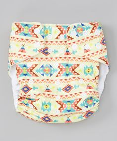In this laminated, cozy cloth design, Baby can wiggle and wobble with leak-proof assurance. The included triple-layer microfiber insert is ultra absorbent and is easily inserted into the elastic-lined rear pocket of the diaper. With four layers of snaps, this reusable diaper can be adjusted to fit any form, and the new crossover snaps even allow for an extra-small fit. In this playful print, Baby's bum never looked so cute! <...