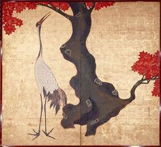 Museo Nacional del Prado: La obra invitada: dos biombos japoneses de la Escuela de Rimpa