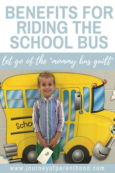 Reasons Why It Benefits Your Child to Ride the School Bus. Riding the School Bus is Safe for Children and Can Provide the Chance to Form Friendships and Build Character Preschool Schedule, Preschool Age, Preschool Activities, Parenting Tips, Kids And Parenting, Practical Parenting, Back To School Hacks, School Stuff, School Days