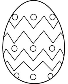 free clip art Easter egg Make your world more colorful with free printable coloring pages from italks. Our free coloring pages for adults and kids. Easter Egg Outline, Easter Egg Template, Easter Templates, Easter Egg Pattern, Easter Art, Easter Egg Crafts, Easter Bunny, Easter Coloring Pages Printable, Easter Egg Coloring Pages