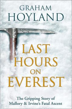 Hoyland, a mountaineer, examines letters, conducts interviews, and climbs Mount Everest many times in his quest to determine whether George Mallory and Sandy Irvine actually made it to the summit before their deaths. Some of the research is fascinating, but in the end, much of the book seemed to be very self-serving. Hoyland appears to desire his own fame.