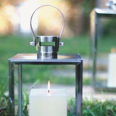 Farol rectangular para decoración con velas. decoración de eventos. Decoragloba