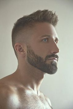 Nice fade. Great beard