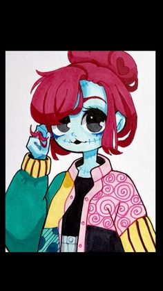 Drawing Sally in my Style
