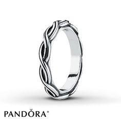Pandora Ring Changing Seasons Sterling Silver.  $40.00.  Jarod.