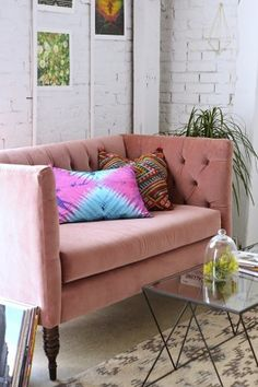 Magical Thinking Tie-Dye Pillow