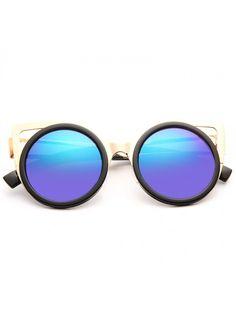 Just Dance Designer Inspired Cat Eye Sunglasses