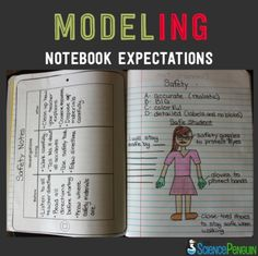 Modeling Notebook Expectations- a video of how to teach students to do quality work in their science notebooks. Modeling is such an important part of teaching, especially for your visual learners. Science Lessons, Teaching Science, Science Education, Science Activities, Science Ideas, Physical Science, Science Experiments, Science Student, Teaching Themes