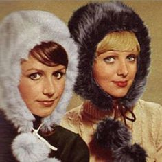 "Winter hat- we call them "" rabbit ears"""