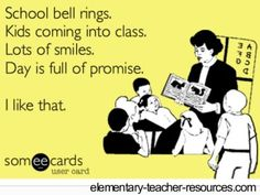 That makes me smile!  This is what we have to remember when the pressure is on to meet this standard and do that assessment...