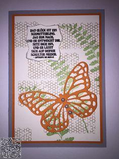 Stampin´UP! jennys_Stempelwelt Grußkarte mit dem Set Schmetterlingsgruß