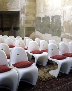 Verner Panton Church Chairs