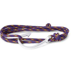 MiansaiWoven-Cord and Metal Hook Wrap Bracelet|MR PORTER