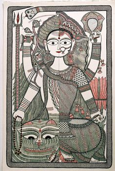 ChaiTime with Dr. David Szanton on Mithila Paintings, Feb 2014 Indian Artwork, Indian Folk Art, Indian Paintings, Madhubani Art, Madhubani Painting, Traditional Paintings, Traditional Art, Tantra Art, Contemporary Art Artists