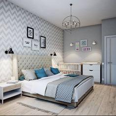 Спальня в скандинавском стиле (De Анна Теклюк)