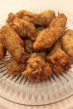 Ready for football season? These deep fried lemon pepper chicken wings are tender and juicy, packed with flavor the whole party will love! Fried Chicken Recipes, Baked Chicken, Marinated Chicken, Lemon Pepper Chicken Wings, Lemon Chicken, I Heart Recipes, Chicken Stuffed Peppers, Nutrition, Soul Food