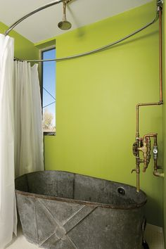 Salvage yard style bath