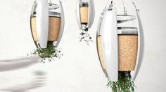 Een lamp die licht geeft, kruiden verbouwt en voor frisse lucht zorgt?