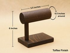 bracelet display stand watch stand solid wood t bar by usaveco