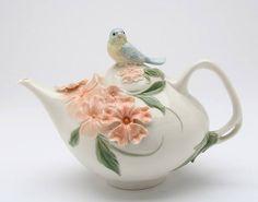 Tetera  Apple Blossom tetera de aves