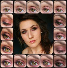Red & brown II - #redeyes #eyemakeup #eyes #eyeshadow #magdalenaburza - bellashoot.com
