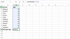 Learn here how to use average function in excel. By using average function you can calculate average value of values or take arithmetic mean of values.