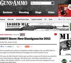 Guns & Ammo. SHOT show 2013 reviews