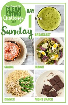 Day 1 Of The 2015 Clean Eating Challenge