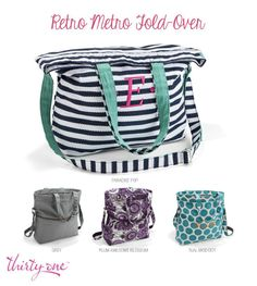 Thirty One Retro Metro Fold-Over is 50% off in March!  Check it out...www.mythirtyone.com/barbaragarces
