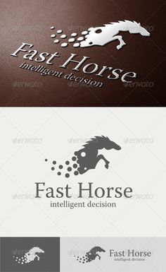 Fast Horse Logo - GraphicRiver Item for Sale