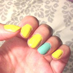 Summer nail polish
