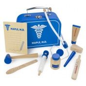Wooden Wonders Dr. Maple's Medical Kit by Imagination Generation $49.95