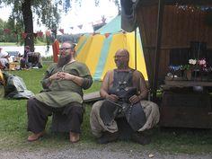 Isännät - Men, Hämeen keskiaikamarkkinat 2014 - Häme Medieval Faire 2014, © Piela Auvinen