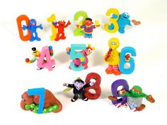 Sesame Street Number Figures
