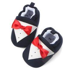 Alamana Lovely Bowknot Infant Baby Girl Princess Soft Sole Prewalker Toddler Shoes Gift Black 13cm