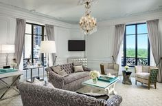 Tiffany Suite, St. Regis Hotel, NYC