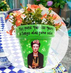 Maceta Frida N°18, $110 en https://ofeliafeliz.com.ar