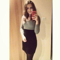 #dress #smile #elegant #smart #outfit