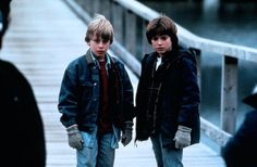 Elijah Wood in The Good Son The Good Son, Macaulay Culkin, Elijah Wood, Life Is Like, Sons, Childhood, Bomber Jacket, Cinema, Winter Jackets