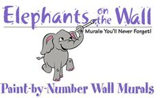 "Paint-by-numbers murals you create yourself! Now you can paint an entire mural on your child's bedroom wall in no time. Just tape, trace and paint! These adorable paint-by-numbers wall murals are an easy do-it-yourself project even for the ""artistically challenged."" So skip the expensive muralist, and transform your kid's room décor with a full-sized wall mural for much less. Each kit comes with the full-sized paper pattern, transfer paper, directions and color guide. Patterns are reusable."