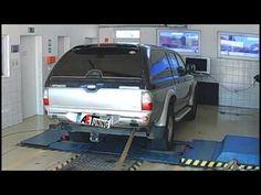 Mitsubishi L200 2.5TD 115LE AET CHIP Tuning referencia videó Dyno teljes...
