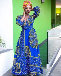WEBSTA @true.fond ¤Its headwrap and maxi dress season. Order the akuffo maxi dress today at www.truefond.com¤
