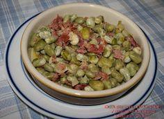 Habas a la Vitoriana Spanish Kitchen, Spanish Cuisine, Spanish Food, Basque Food, Gula, Fava Beans, Guacamole, Food To Make, Spain
