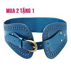 ALAMODE PARIS ALM1592B - Thắt lưng MORGAN xanh - giảm giá 50% | KAY.vn